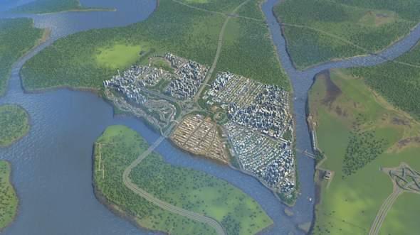 Cities Skylines: Stadt wächst, Einnahmen sinken super stark?