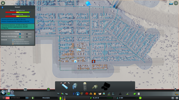 Cities Skylines Wasserproblem?