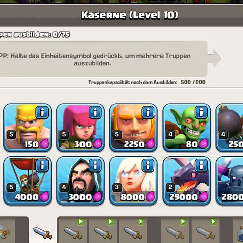 Clash of Clan Angriff?