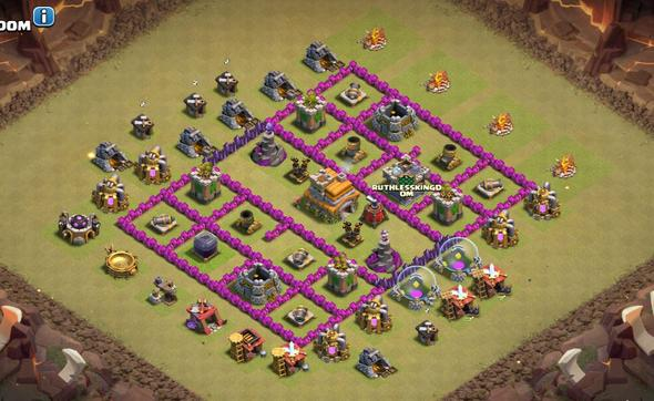 CW - (Computer, Games, clash of clans)