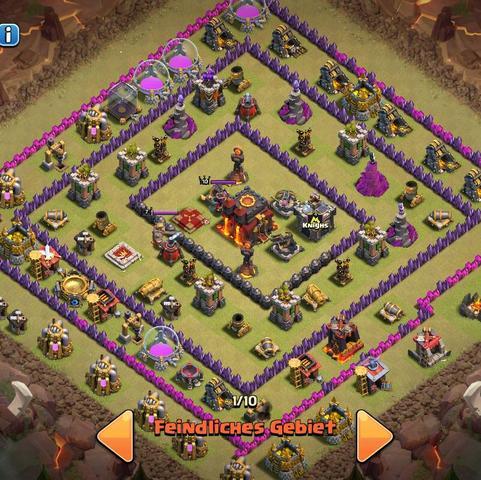 Hier ist das Bild  - (clash of clans, 3 Sterne Taktik)