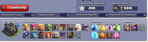Hier die Truppen - (clash of clans, Account verkaufen)