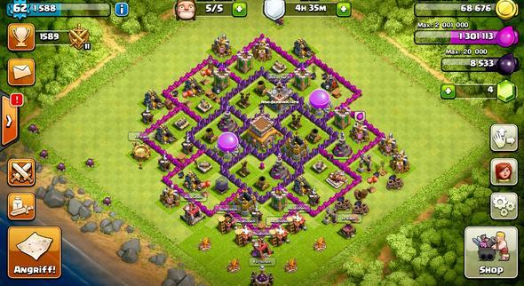 Alsoo hier mein Dorf - (Account, clash of clans)