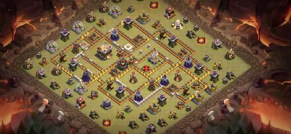 Clash of Clans welche Base ist besser?