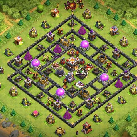 Das ist die Base - (clash of clans, coc, angreifen)