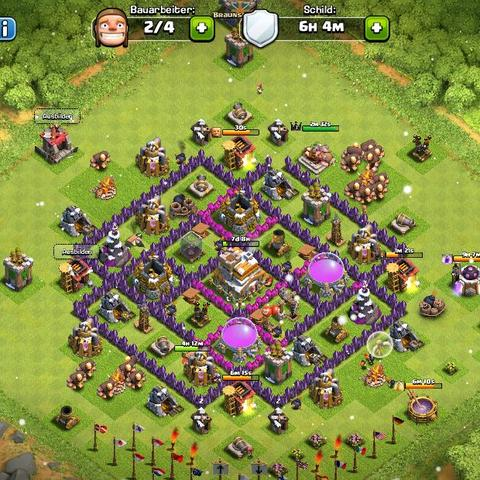Mein Clash of Clans Dorf  - (Clash of Clans, Dorf)