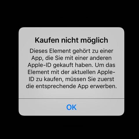 Ich kann bloss nicht das im deutschen Store instalieren - (Spiele)