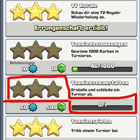 Belohnung - (Turnier, Clash Royale, Belohnung)
