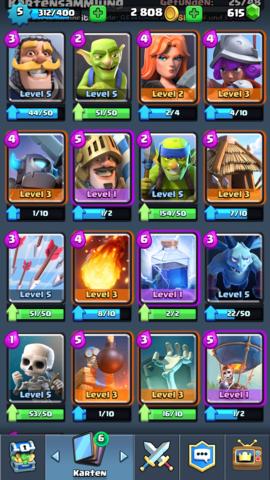 Weitere Karten - (Technik, Games, Clash Royal)