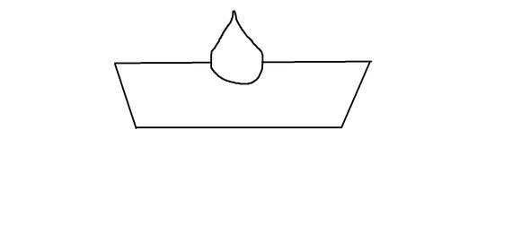 Symbol Wanne mit Tropfen - (Auto, Fehlermeldung)