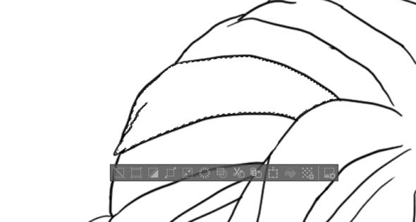 Clip Studio Paint Problem mit Zauberstab und Fillingtool?
