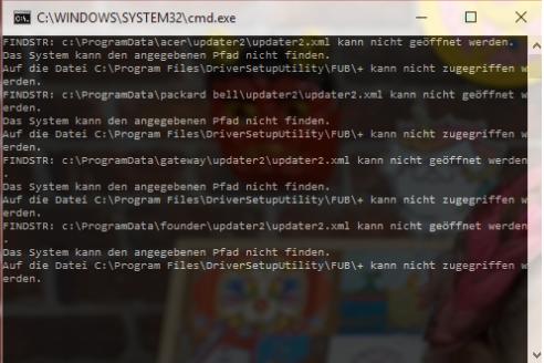 CMD-Fenster - (Computer, Computerspiele, Windows 10)