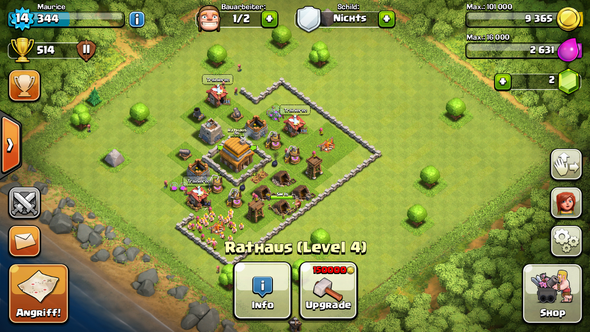 mein Dorg - (Android, clash of clans)