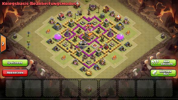 Meine Base - (Games, Clash of Clans)