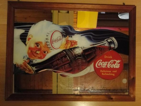Coca Cola Werbung - (Werbung, Cola, Trödel)