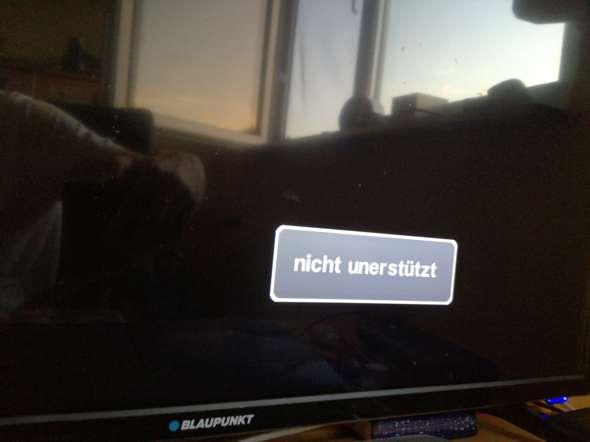 CoD Black ops (PS3) vom Fernseher nicht unterstützt?
