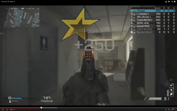 Der Rote HitMarker - (Cod, rot, ghosts)