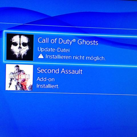 ...... - (PS4, Update, Cod)