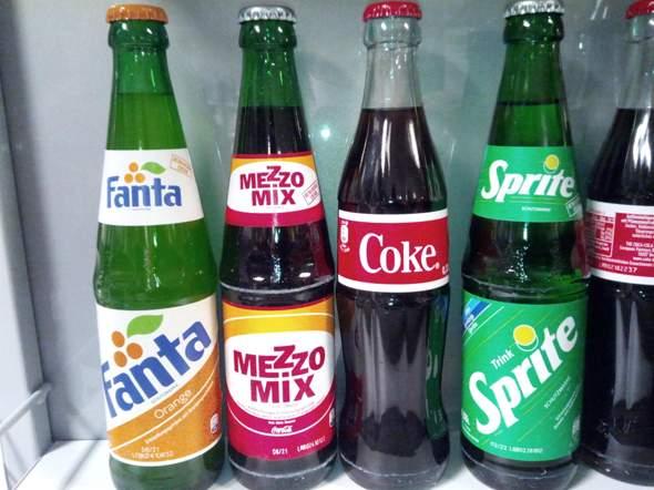 Coke, Fanta, Mezzo Mix und Sprite im Retro-Design - wie findet ihr das?