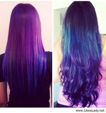 links - (Haare, colour b4)
