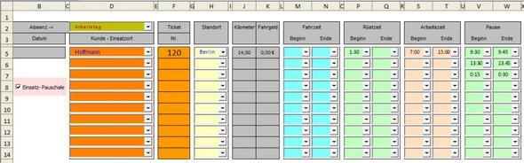 Excel Tabelle - (programmieren, Excel)