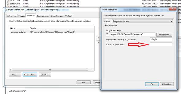 """Beispiel an """"CCleaner"""" - (Computer, Technik, Windows)"""