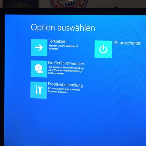 Startbildschirm - (Computer, PC, Windows)