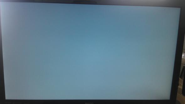 Komplett graues Bild 1-2min nach hochfahren - (Computer, PC, Software)