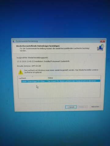 Computerschutz Aktivieren