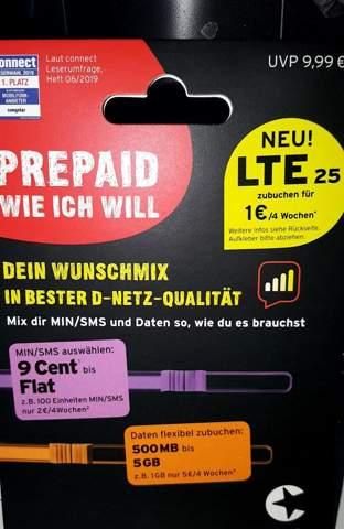 Congstar Prepaid Karte konnte bei Post nicht identifiziert werden?