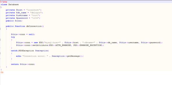 Der dblogin bei meiner website - (HTML, MySQL)
