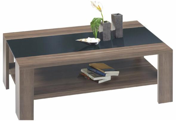 Couchtisch Auch Ohne Schwarze Glasplatte Tisch Nussbaum