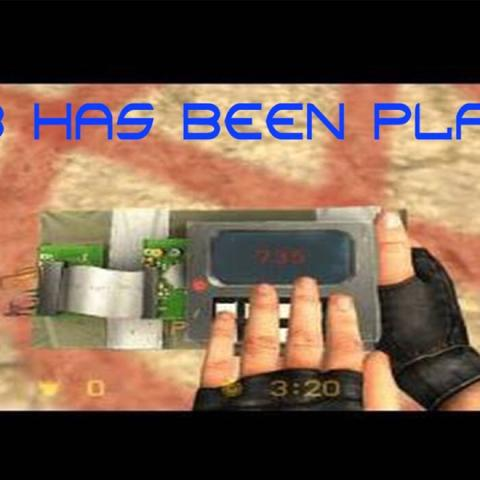 Bomb has been planted - (Counter-Strike, Sprechen)