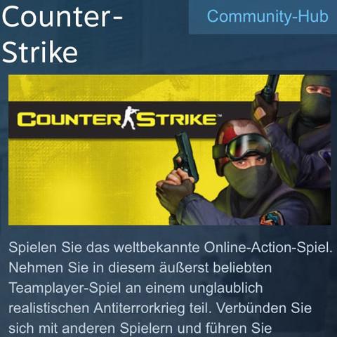 Steam Counter Strike  - (Steam, Counter-Strike)