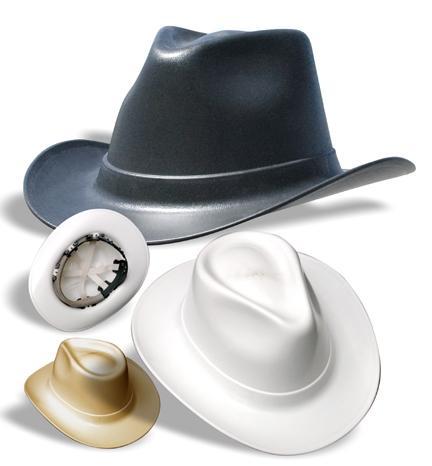- (cowboyhut, Bauhelm)