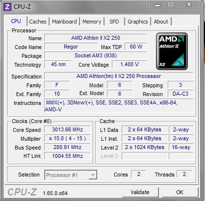 CPU INFO - (PC, cpu, AMD)