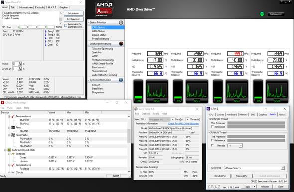 CPU Temperaturen - (cpu, Temperatur)