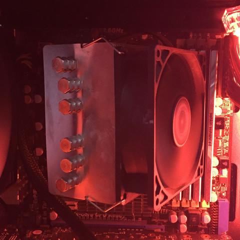 CPU draufsicht - (cpu, AMD, Intel)