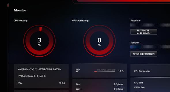 CPU Nutzung schwankt stark MSI Laptop - neu-?