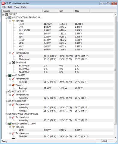 CPU - (CPU, Temperatur)