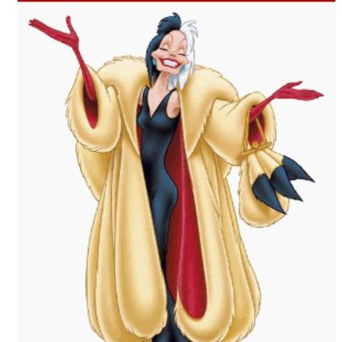 Das ist Cruella de vil, wer erinnert sich? - (Schule, Film, Charakter)
