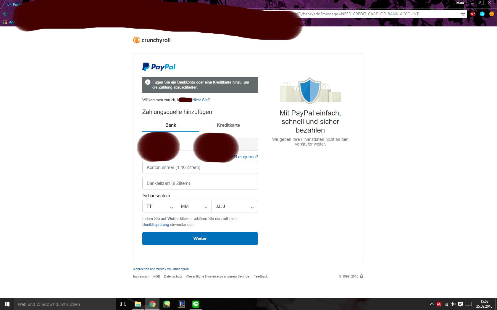 Paypal Seite Geht Nicht