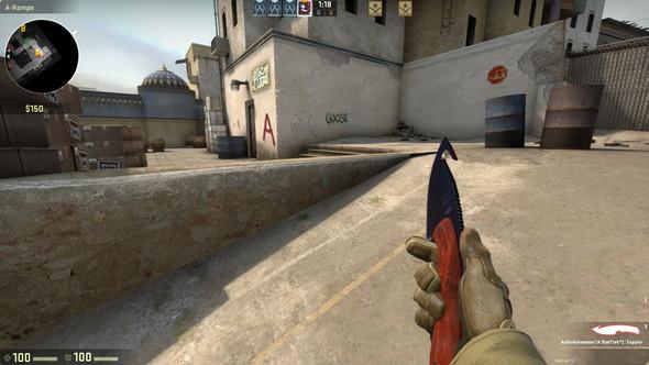 Screenshot des Knifes - (csgo, Wert, Messer)