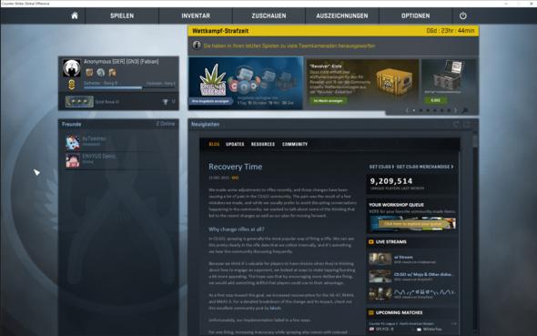 Screenshot Des bannes  - (csgo, ban, unberechtigt)