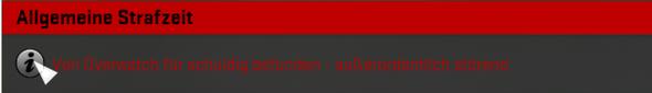 Screenshot der Bann Nachricht - (csgo, Overwatch, Hacks)