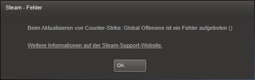 Doenloadfehler - (Update, Counter-Strike)