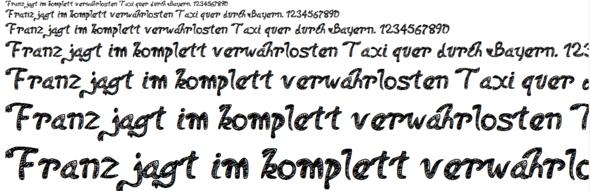 Schriftart - (html, Programmierung, CSS)