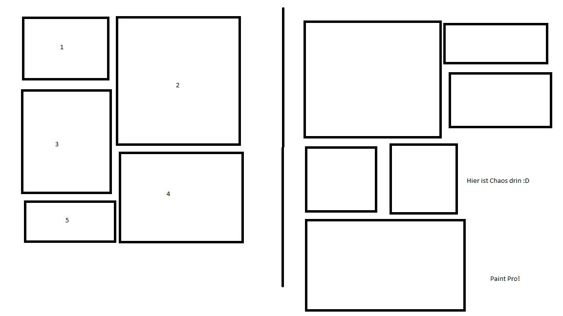 css unterschiedlich gro e div 39 s untereinander nebeneinander anordnen programmieren html. Black Bedroom Furniture Sets. Home Design Ideas