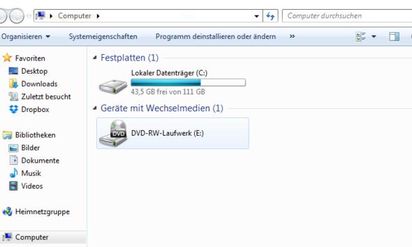 Pc - (PC, Festplatte, Laufwerk)