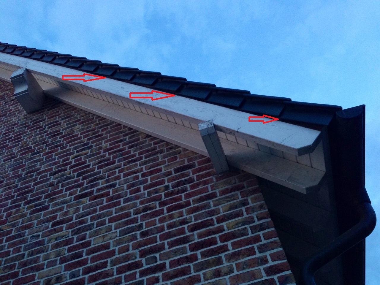 Dachbalken Verkleiden dachbalken evtl nicht ausreichend geschützt baumangel gutachter
